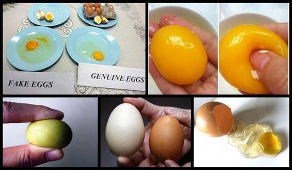 How to identify artificial eggs? Know the 10 signs to recognize artificial eggs.